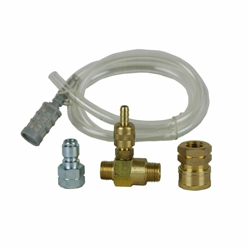 """Valley/BE Low Pressure Chemical Injector 3 - 5 GPM with 3/8"""" Quick Connects"""