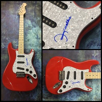 GFA Chances Are Singer * JOHNNY MATHIS * Signed Electric Guitar COA