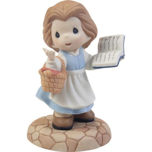 Precious Moments Figurine Dream of Adventure Disney Belle w/book *203061*