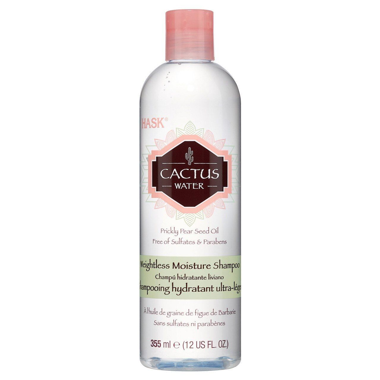 Hask Cactus Water Weightless Moisture Shampoo 12 oz