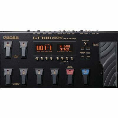 BOSS GT-100 - Multi Effects Device