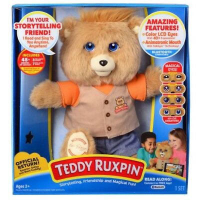 New 2017 Teddy Ruxpin Official Return Of The Storytime And Magical Story Bear