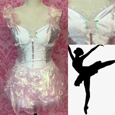Adult Sexy Ballerina Costume Leg Avenue Mini Dress Size - Sexy Ballerina Kostüm