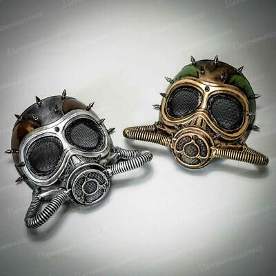 Couples Halloween Costume Masks Steampunk Face Masks Masquerade Cosplay Gas Mask