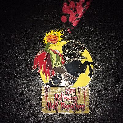 loween Half Marathon Medal  (Miami Halloween)