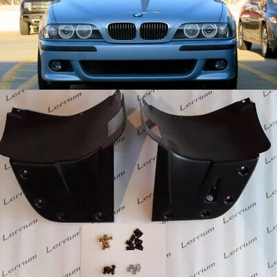 BMW E39 M5 L+R FRONT form M BUMPER SPLASH PANEL ABS plastic with instalation kit for sale  Shipping to Canada