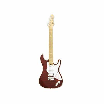 Aria 714 MK2 STRATOCASTER Ruby Rojo - Guitarra Eléctrica