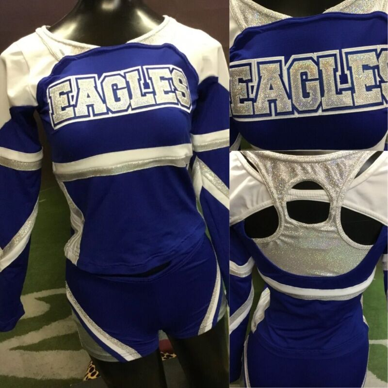 Real Cheerleading Uniform Adult XS Youth L