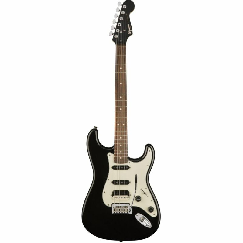 SQUIER Contemporary STRATOCASTER HSS, Rosewood Fingerboard, Black Metallic