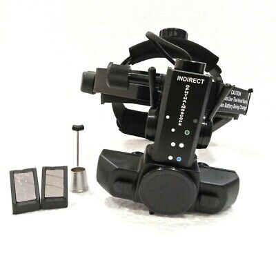 Binocular Wireless Rechargeable Indirect Ophthalmoscope With Accessories Case