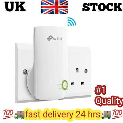 TP-Link N300 Universal Wi-Fi Range Extender, Broadband/Wi-Fi Extender, Wi-Fi and