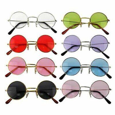 John Lennon Style Sunglasses Ozzy Osbourne Hippy 80's 70's Fancy Dress (Ozzy Style Glasses)