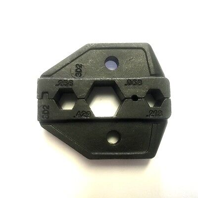 Coax Crimp Tool Die Set For Rg-58598x Rg-811 213 Lmr-195 Lmr-240 Lmr-400