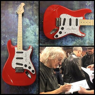 GFA Heads Hands & Feet Guitarist * ALBERT LEE * Signed Electric Guitar PROOF COA