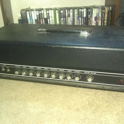 yamaha g 100 amp bass guitar  head