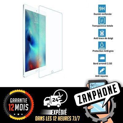 iPad Pro (10.5 Pouces) FILM DE PROTECTION  VERRE TREMPE Intégral TRANSPARENT