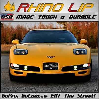 C5 Corvette Under Fascia Valance Lower Flexible Rubber Chin Lip Spoiler Splitter