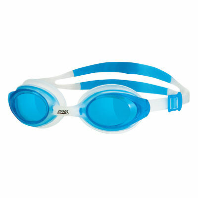 Zoggs Bondi Adult Swimming Goggles - Clear Strap   Blue Lense 0d1281e838
