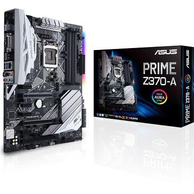 ASUS PRIME Z370-A GAMING ATX Mainboard 1151 DP/HDMI/DVI/M.2/USB3.1 4712900843378