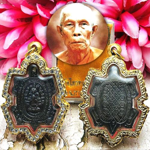 Turtle Sankajai Money Fortune Lp Koon Liew Join Blessed Thai Amulet Be2538 15627