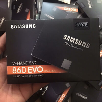 Samsung 860 EVO MZ-76E500B/AM 500GB SATA 3 Internal Solid State Drive