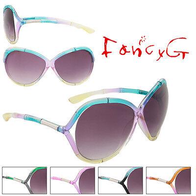 Women Fashion Sunglasses Tri Colors Stylish UV 400 Protection x 12 Assorted