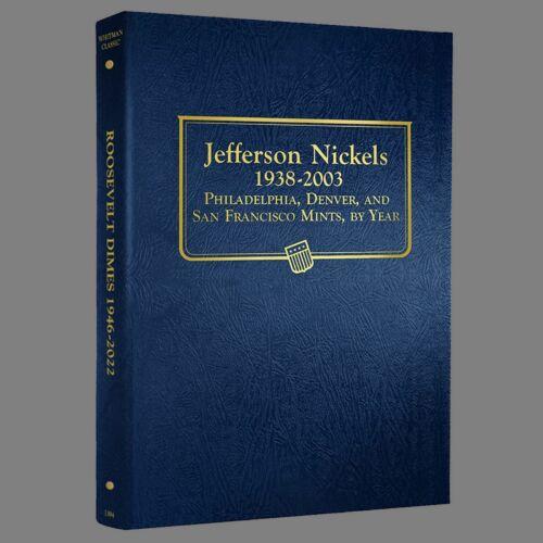 Whitman US Jefferson Nickel Coin Album 1938-2003 #9116