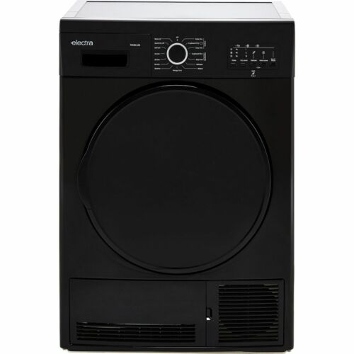 Electra TDC8112B B Rated 8Kg Condenser Tumble Dryer Black