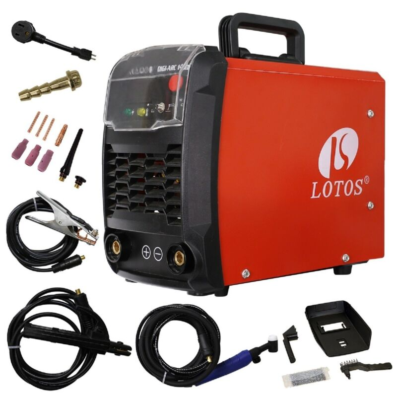 TIG / STICK IGBT WELDER DUAL VOLTAGE 140AMP DC TIG140 WELDER