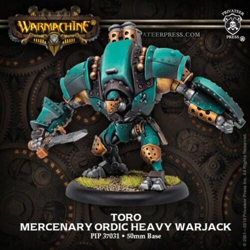 Warmachine Golden Crucible Guard Toro PIP37031