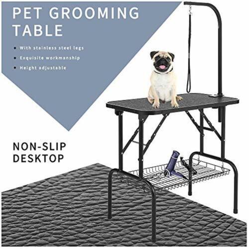 Folding Pet Dog Grooming Table 32