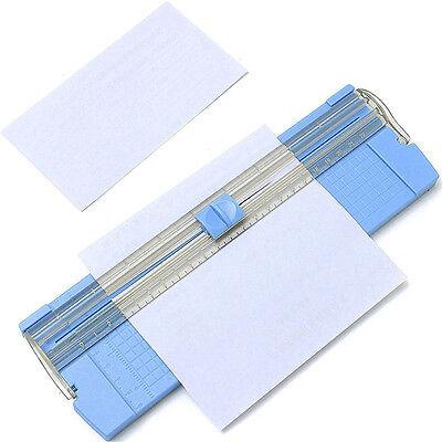 (Safety Small Paper Cutter A4 Cutter Precise Photos Cutting Mat Straight Measure)