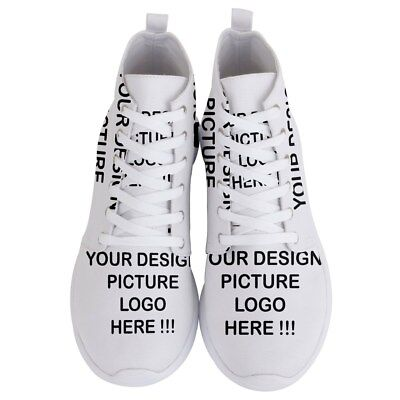 Personalized Custom Your Design Photo Men's Lightweight High Top Sneakers Shoes - Personalize Shoes
