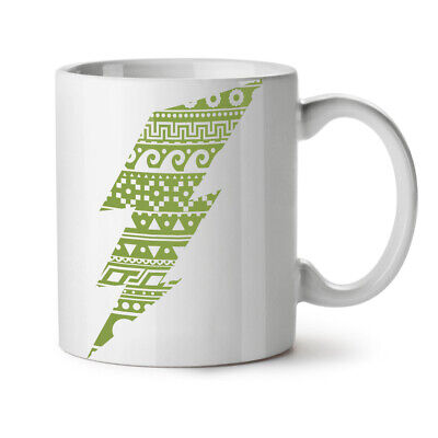 Flash Sign Aztects Geek NEW White Tea Coffee Mug 11 oz   Wellcoda