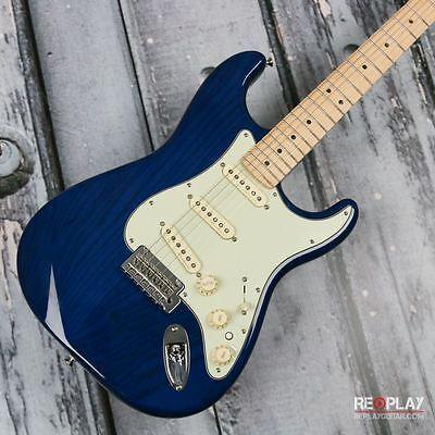 Fender Deluxe Stratocaster - Sapphire Blue Transparent