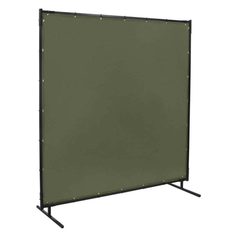 Steiner 501-6X8 Protect-O-Screen Olive Green Canvas Duck FR Welding Screen