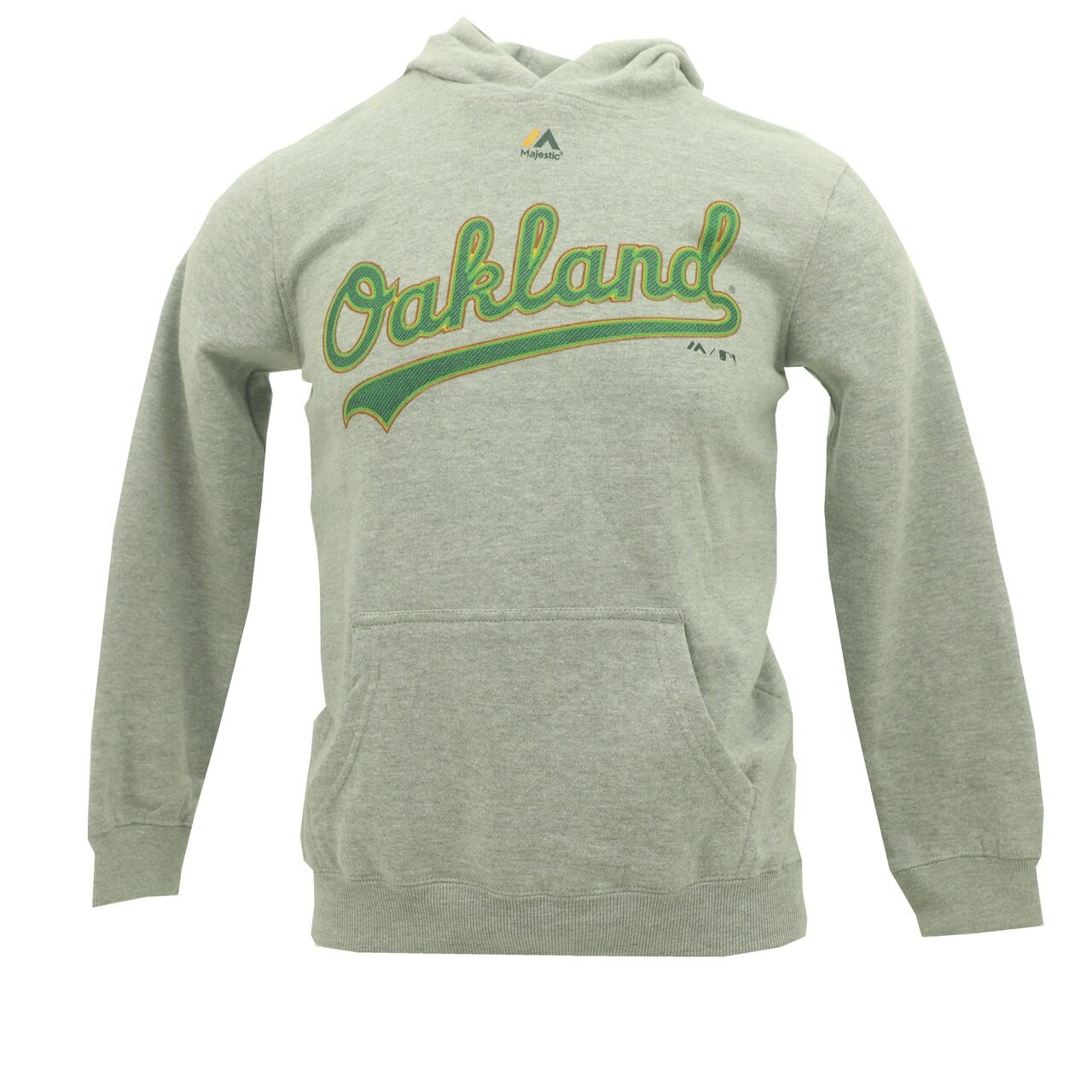 buy popular 416b4 92d76 Details about Youth Size Oakland Athletics Official Majestic MLB Sweatshirt  New With Tags