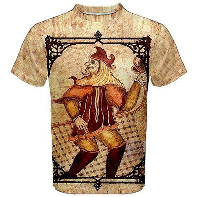 18th Century Shirts (Viking God Loki T-Shirt 18th Century Folk Art Norse Mythology)