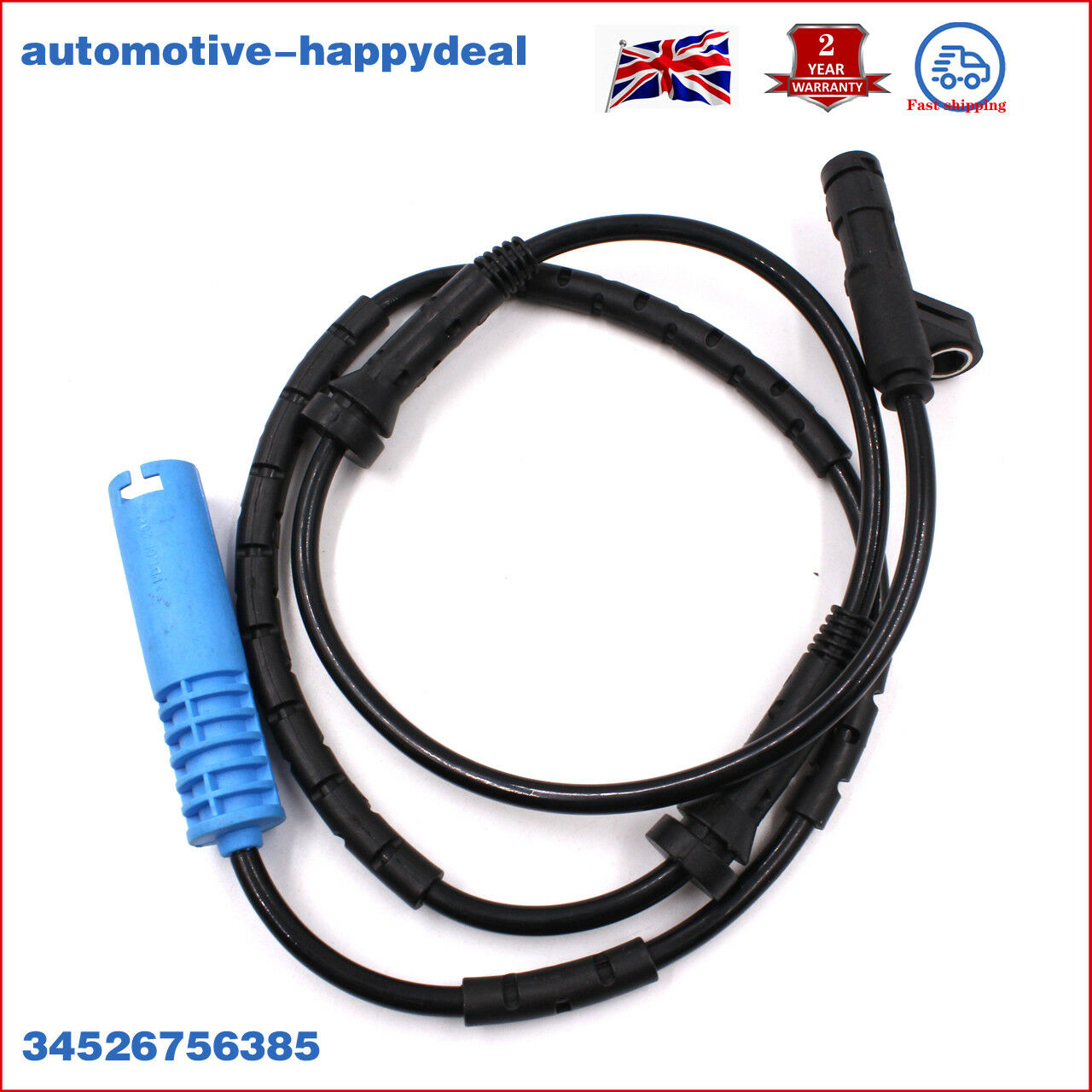 For Mini Cooper One Rear ABS Wheel Speed Sensor Wire Brand New