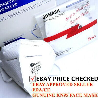 FFP2 KN95 Mask Unvalved Face Mask N95 Protection Cover Face Mask UK