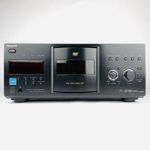 SONY DVP-CX995V 400 DISC CD/DVD PLAYER DISC EXPLORER MEGA CHANGER - TESTED WORKS