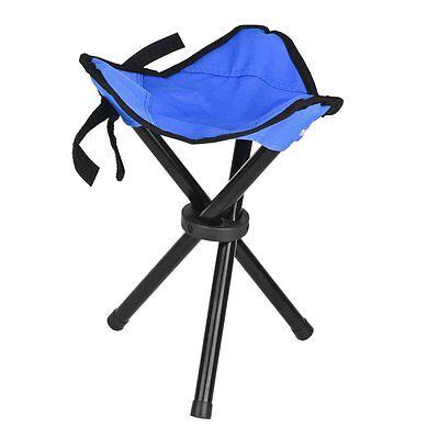 Camping Wandern Angeln Picknick Faltbare Stuhl 3 Beine Hocker Sitz Portable #DE (Camping Stuhl Portable)