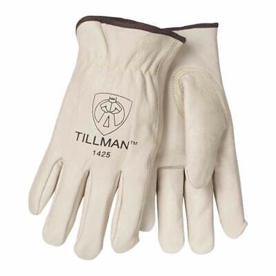 Tillman 1425 Top Grain Cowhide Fleece Lined Winter Gloves - Medium