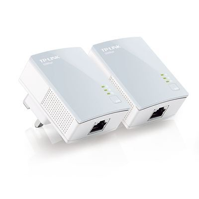 TP-LINK TL-PA4010KIT AV500 500Mbps Nano Powerline Gaming TV Adapter Starter Kit