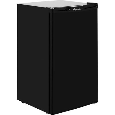 Fridgemaster MUL49102B Free Standing 49cm 102 Litres A+ Fridge Black New from