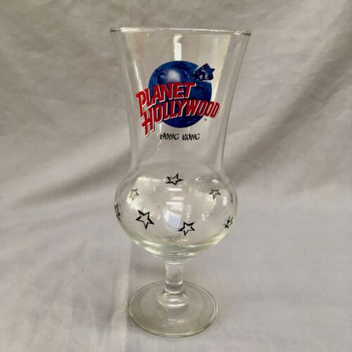 Planet Hollywood Hong Kong Hurricane Glass Collectible Rare EUC