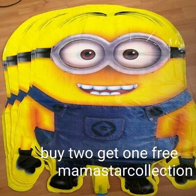 HUGE MINION DESPICABLE ME FOIL BALLOON BIRTHDAY PARTY SUPPLIES
