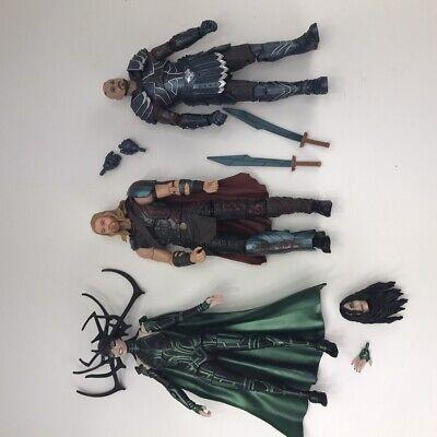 Hasbro Marvel Legends 6 Inch Thor Hela Scurge 3 Figure Lot Ragnarok Fodder