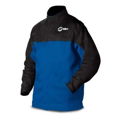 Miller 231084 Combo Leather And Indura Welding Jacket 2x-large