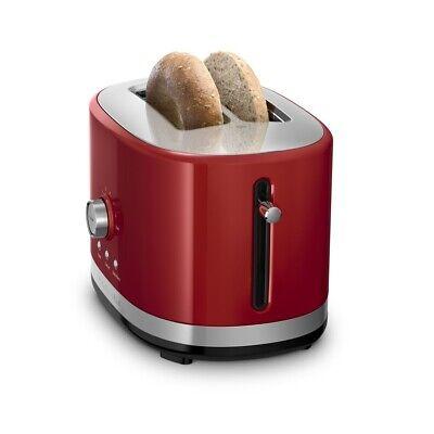 KitchenAid Refurbished 2-Slice Long Slot Toaster | Empire Red